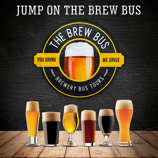 Book Yourself A Seat On The Brew Bus